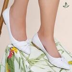 Sapatilha Violanta Indonésia Branco