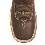Bota Texana Masculina - Crazy Horse Café / Castanho - Roper - Bico Quadrado - Cano Médio - Solado Freedom Flex - Vimar Boots - 81231-A-VR