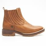 Botina Masculina - Dallas Bambu - Roper - Bico Quadrado - Cano Curto - Solado Strong Shock - Vimar Boots - 82080-A-VR