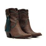 Bota Western Feminina - Fóssil Castanho | Celeste - Vimar Boots - 11181-A-VR