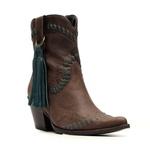 Bota Western Feminina - Fóssil Castanho   Celeste - Vimar Boots - 11181-A-VR