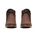 Botina Feminina - Nobuck Café - Verona - Vimar Boots - 12133-A-VR