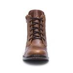 Botina Feminina - Atlanta Havana - Western - Bico Redondo - Solado Colorplac - Vimar Boots - 12148-A-VR