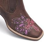 Botina Feminina - Castor / Glitter Pink - Vimar Boots - 12165-B-VR