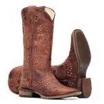 Bota Feminina - Fóssil Pinhão - Nevada - Vimar Boots - 13024-A-VR