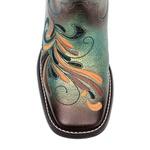 Bota Shiny Hummingbird Black & Blue - Fóssil Flex Azul Dourado | Preto | Glitter Preto - Freedom Flex - Vimar Boots - 13110-B-VR