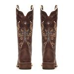 Bota Feminina - Dallas Castor| Glitter Maxxi Preto com Prata - Nevada - Vimar Boots - 13121-B-VR