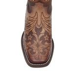 Bota Feminina - Couro Gravado em Estrelas / Castanho - Nevada - Vimar Boots - 13134-B-VR