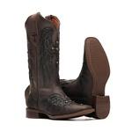 Bota Feminina - Dallas Brown / Glitter Preto - Vimar Boots - 13145-C-VR