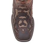 Bota Feminina - Dallas Castor   Craquelé Bronze - VTS - Vimar Boots - 13147-D-VR
