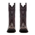 Bota Feminina - Dallas Café / Roxo - Freedom Flex - Vimar Boots - 13148-C-VR