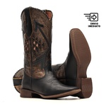 Bota Feminina - Fóssil Preto   Fóssil Flex Ouro Light   Preto - Nevada - Vimar Boots - 13149-C-VR