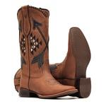 Bota Feminina - Dallas Tabaco | Tabaco | Preto - Nevada - Vimar Boots - 13149-D-VR