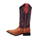 KIT CONSUMIDOR - Bota Feminina - Dallas Bambu | Roxo | Pink - Freedom Flex - Vimar Boots - 13150-A-VR-KIT
