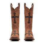 Bota Feminina - Dallas Tabaco | Fóssil Preto - Nevada - Vimar Boots - 13151-A-VR