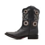 Bota Feminina - Fóssil Preto - Freedom Flex - Vimar Boots - 13152-A-VR