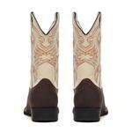 Bota Masculina - Crazy Horse Café | Marfim - Texas B - Bulls Horse - 50028-A-BU