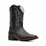 Bota Masculina - Floather Preto- Texas B - Bulls Horse - 50030-B-BU