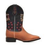 Bota Masculina Don't Mess With Texas - Dallas Bambu | Marinho - Texas B - Bulls Horse - 50032-A-BU