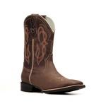 Bota Masculina - Dallas Brown - Texas B - Bulls Horse - 50033-B-BU