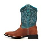 Bota Feminina - Dallas Bambu | Celeste | Turquesa - VTS - Bulls Horse - 53008-A-BU