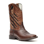 Bota Masculina - Texas Café / Fóssil Caseína Caramelo - Vimar Boots - 81300-B-VR