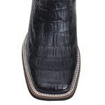 Bota Masculina - Jacaré Original Preto (COSTAS) | Mustang Preto - Magnum Western - Vimar Boots - 81312-D-VR
