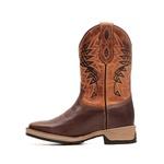 Bota Masculina - Texas Café | Fóssil Caseinado Caramelo - Strong Shock - Vimar Boots - 81313-A-VR
