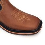 Bota Work Masculina - Dallas Bambu | Fóssil Preto - Solado Extreme - Vimar Boots - 81327-B-VR