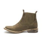 Botina Masculina - Dallas Brown - Roper - Bico Quadrado - Cano Curto - Solado TXS- Vimar Boots - 82081-B-VR