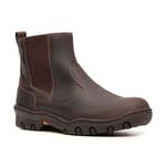Botina Work Masculina - Crazy Horse Café - Solado West Country - Vimar Boots - 82098-B-VR