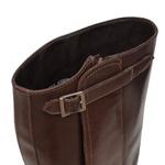 Bota Hipica Montaria Masculina - Latego Café - Solado Couro - Vimar Boots - 84001-A-VR