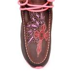 Tênis Desert Feminino - Dallas Castor / Glitter Pink - Vimar Boots - 85017-A-VR