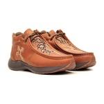 Tênis Desert Feminino - Dallas Bambu / Glitter Maxxi Ouro - Vimar Boots - 85017-B-VR