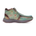 Tênis Desert Feminino - Fóssil Flex Azul Dourado - Vimar Boots - 85020-A-VR