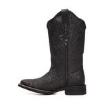 Bota Infantil Feminina - Full Glitter Preto - Colorado - Vimar Boots - 94000-B-VR