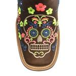 Bota Texana Feminina - Dallas Castor - Roper - Bico Quadrado - Cano Longo - Solado Freedom Flex - Vimar Boots - 13093-A-VR