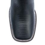Botina Masculina - Lezar Preto - Roper - Bico Quadrado - Solado Strong Shock - Vimar Boots - 82081-E-VR