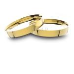 Alianças em Ouro 18K amarelo Anatômicas (3.00 mm de largura)