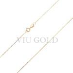 Corrente Veneziana de 40cm em ouro 18k amarelo