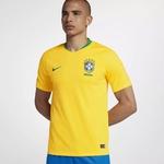 CAMISA SELEÇÃO BRASIL AMARELA 2018