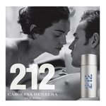 PERFUME 212 MEN NYC CAROLINA HERRERA MASCULINO EAU DE TOILETTE 100 ML