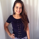 BLUSA T-SHIRT FEMININA AZUL MARINHO