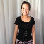 BLUSA T-SHIRT FEMININA PRETA