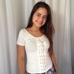 BLUSA T-SHIRT FEMININA BRANCA