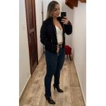CALÇA FEMININA LEGGING JEANS LOOPPER MODELADORA