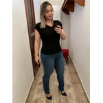 CALÇA FEMININA JEANS LOOPPER MODELADORA CINTURA ALTA