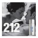 PERFUME 212 MEN NYC CAROLINA HERRERA MASCULINO EAU DE TOILETTE 100 ML