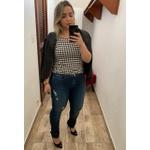 CALÇA FEMININA JEANS LOOPPER SKINNY COM LYCRA