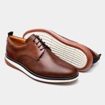 Sapato Masculino Derby - Winchester Conhaque